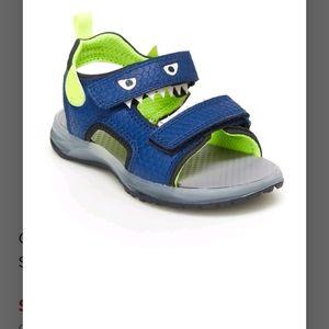 Carter's Cade Toddler Boys Light Up Sandals Sz 11